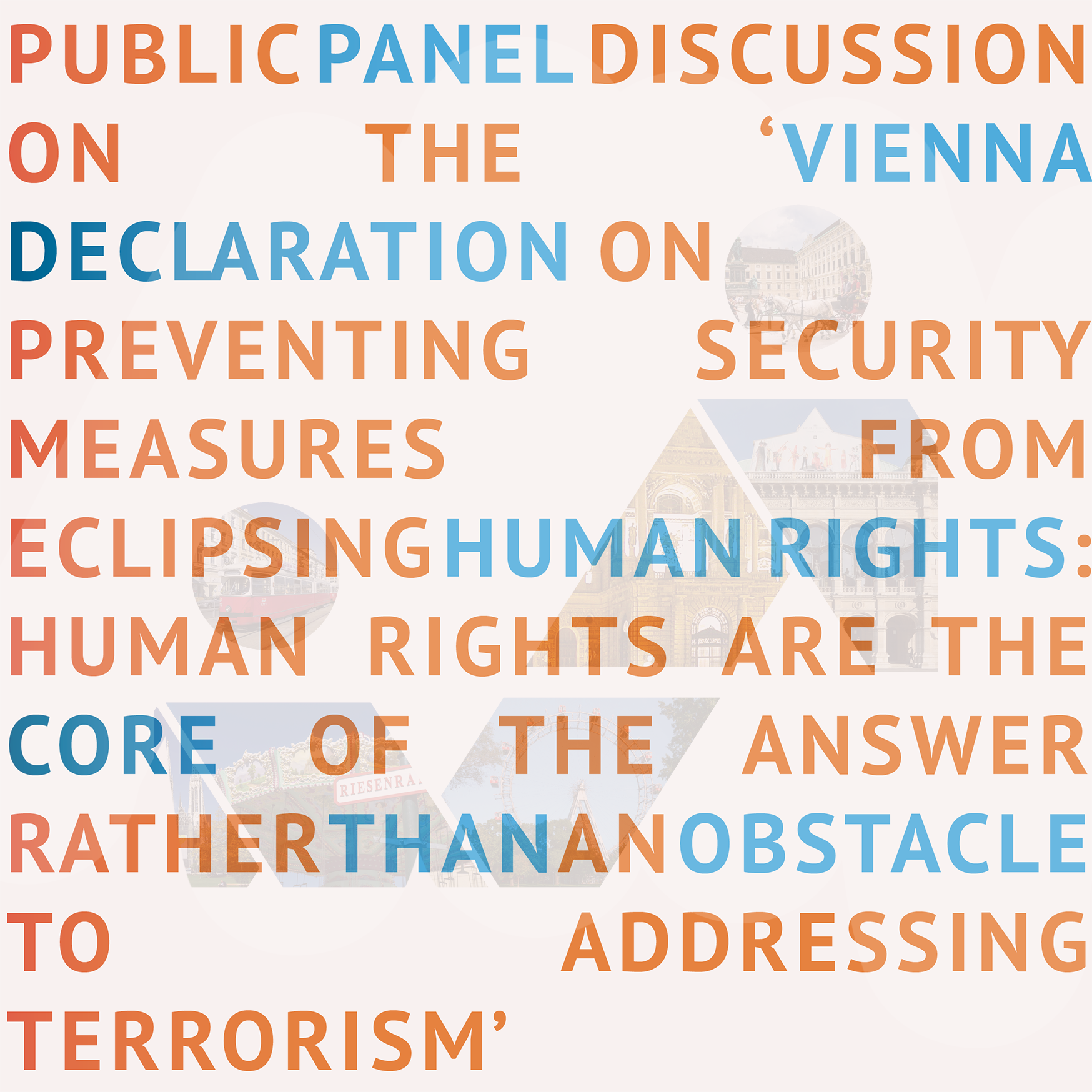 Invitation Public Panel Discussion On The Vienna Declaration On